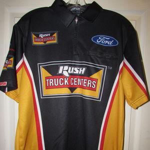 Crew Team Racing Shirt Ford Simpson Haas Mens M